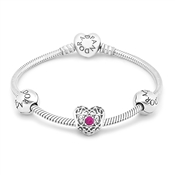 PANDORA July Birthstone Bracelet