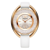 Swarovski Crystalline Oval White Rose Watch