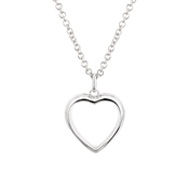 Storie Silver Heart Locket
