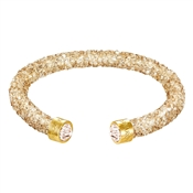 Swarovski Crystaldust Golden Bangle (M)