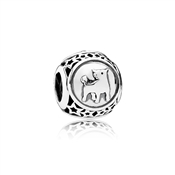 PANDORA Taurus Star Sign Charm