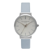 Olivia Burton Hackney Powder Blue & Silver Watch