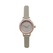 Olivia Burton Mini Wonderland Grey Dial & Rose Gold Watch