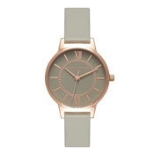 Olivia Burton Wonderland Grey Dial & Rose Gold Watch