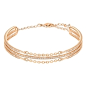Swarovski Fine Rose Gold Bangle