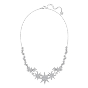 Swarovski Fizzy Rhodium Necklace
