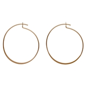 Pilgrim Rose Gold Classic Hooped Earrings