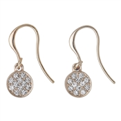 Pilgrim Classic Rose Gold Grace Drop Earrings