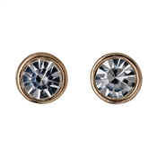 Pilgrim Zara Rose Gold Plated Earrings