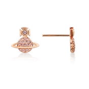 Vivienne Westwood Rose Gold Tamia Earring