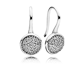 PANDORA Dazzling Crystal Droplet Earrings
