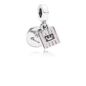 PANDORA Shopping Queen Pink Drop Charm