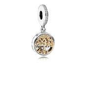 PANDORA Family Roots 14ct Detailed Charm