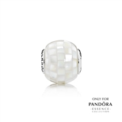 PANDORA ESSENCE Generosity Mother of Pearl Transparent Charm