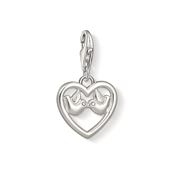 Thomas Sabo Kissing Turtle Doves Charm
