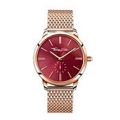 Thomas Sabo Glam Spirit Rose Gold & Red Watch