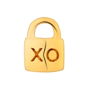 Storie Gold Love Lock Charm