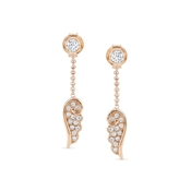 Nomination Angel Wings Rose Gold Drop Earrings