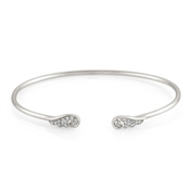 Nomination Angel Wings Silver Open Bangle