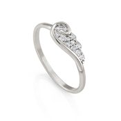 Nomination Angel Silver Wing Ring (M)