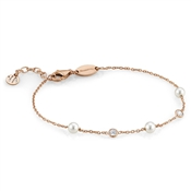 Nomination Bella Rose Gold Swarovski Pearl Bracelet