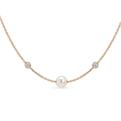 Nomination Bella Rose Gold Swarovski Pearl Necklace