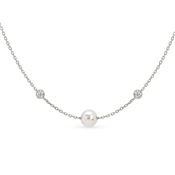 Nomination Bella Silver Swarovski Pearl Necklace