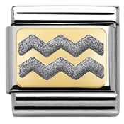 Nomination Glitter Nights Silver Zig Zag Charm