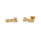 Nomination My Cherie Gold Bow Studs