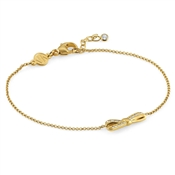Nomination My Cherie Gold Petite Bow Bracelet
