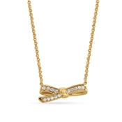 Nomination My Cherie Gold Petite Bow Necklace