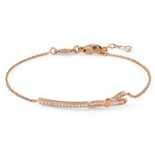 Nomination My Cherie Rose Gold Bow Bracelet