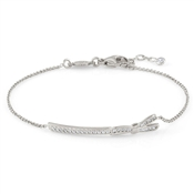 Nomination My Cherie Silver Bow Bracelet