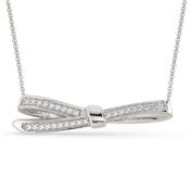 Nomination My Cherie Silver Bow Necklace