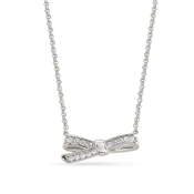 Nomination My Cherie Silver Petite Bow Necklace