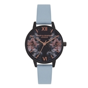 Olivia Burton After Dark Floral & Chalk Blue Watch