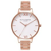 Olivia Burton Big Dial Rose Gold Bracelet Watch