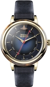 Vivienne Westwood Navy & Gold Portobello Watch