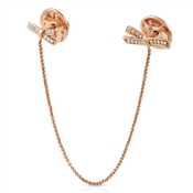 Nomination My Cherie Rose Gold Bow Brooch