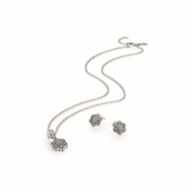 PANDORA Crystallised Floral Gift Set