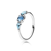 PANDORA Ice Blue Drops Ring