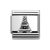 Nomination Silver Eiffel Tower Charm