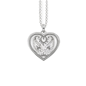 Thomas Sabo Paisley Design Heart Necklace
