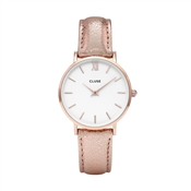 CLUSE Minuit Rose Gold Metallic Watch