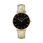 CLUSE La Bohème Black & Gold Metallic Watch