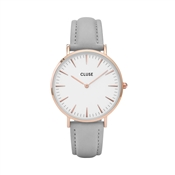 CLUSE La Bohème Rose Gold & Grey Watch