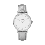 CLUSE La Bohème Silver Metallic Watch
