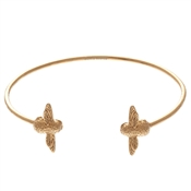 Olivia Burton Gold Bee Open Bangle