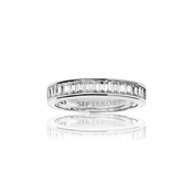Sif Jakobs Silver Corte Baguette Ring