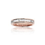 Sif Jakobs Rose Gold Corte Baguette Ring